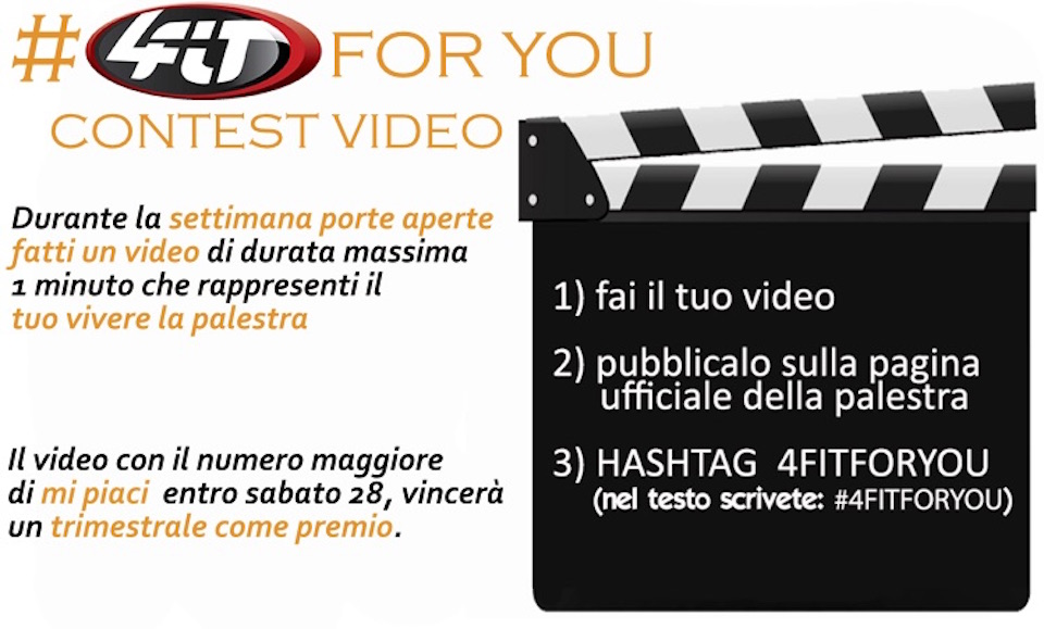 Contest video a 4Fit Palestra Pescara